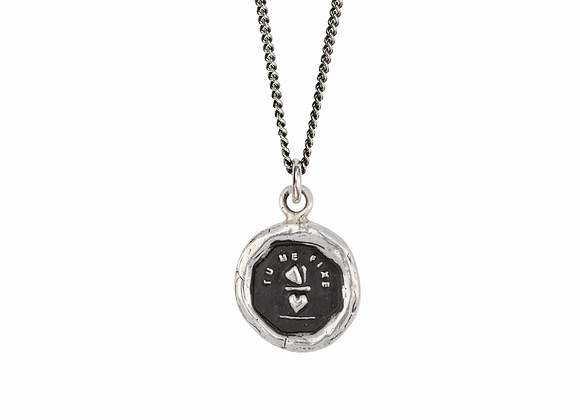 You Complete Me Talisman Necklace by Pyrrha