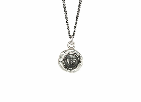 Butterfly Talisman Necklace by Pyrrha