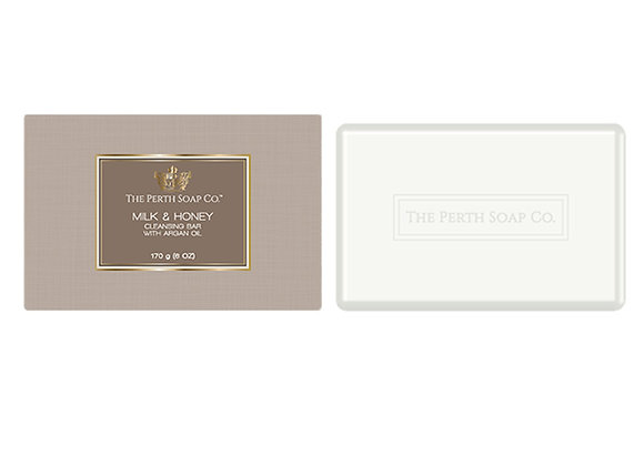 Milk & Honey Cleansing Bar by Perth Soap Co
