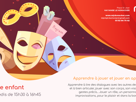Activité Théâtre pour les enfants