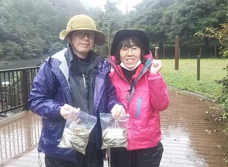 多治見市の竹内御夫婦 雨の中南ロープ西にて287匹