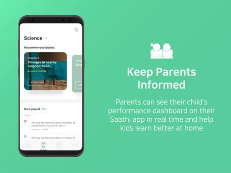 The Class Saathi Parent App