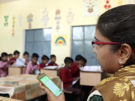 Teacher Training Need Analysis And Support Through Class Saathi