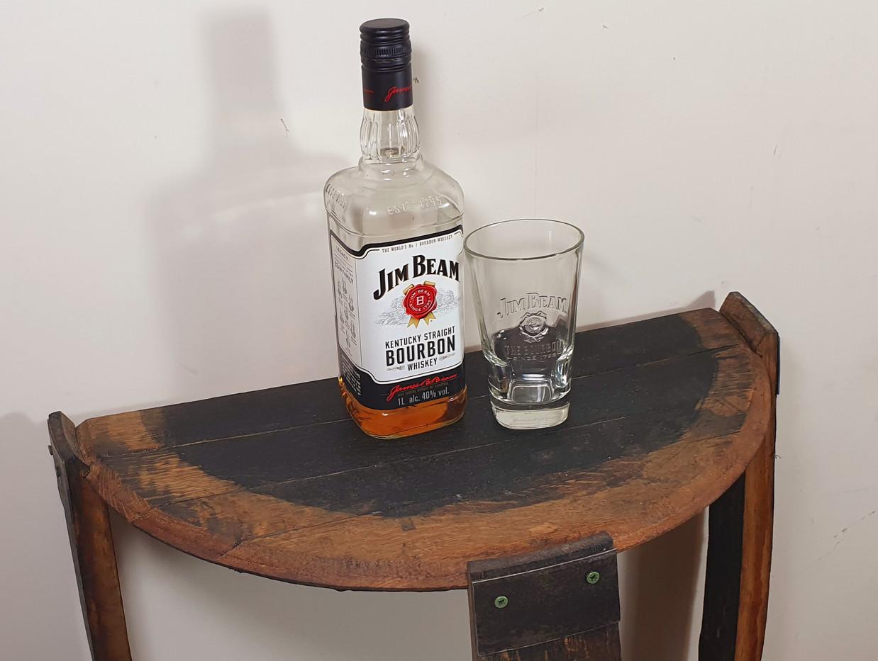Jim Beam Oak Barrel Drinks Cabinet