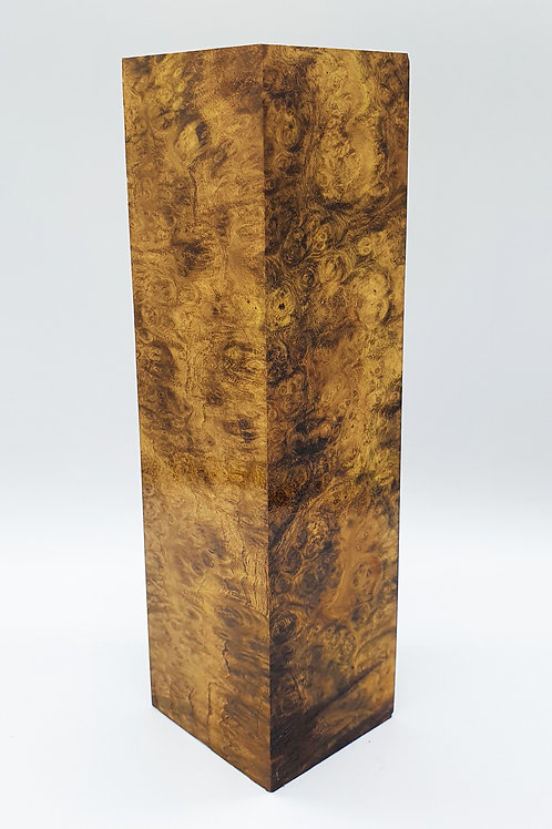 Stabilised Acacia Burr Hidden Tang Blank
