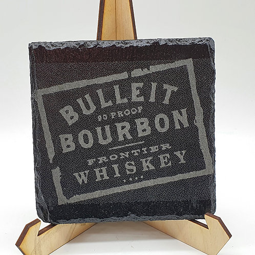 Whiskey Lovers Slate Coaster