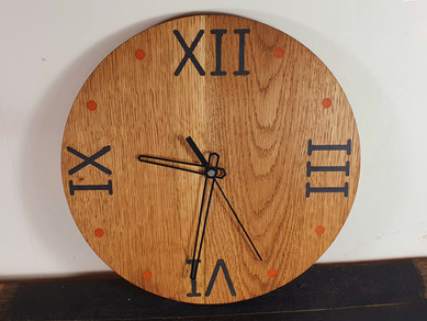 Oak Clock