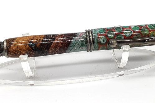 Oak Burr Fountain Pen