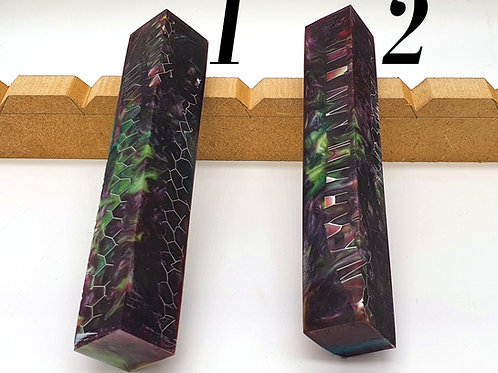 Purple & Green with Aluminium Honeycomb