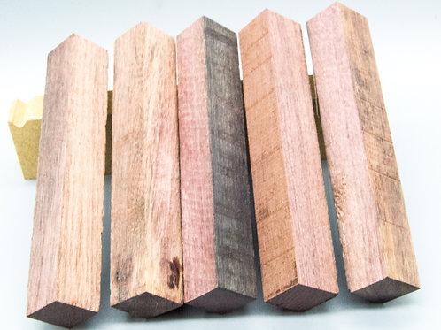 Peltogyne wooden pen blank