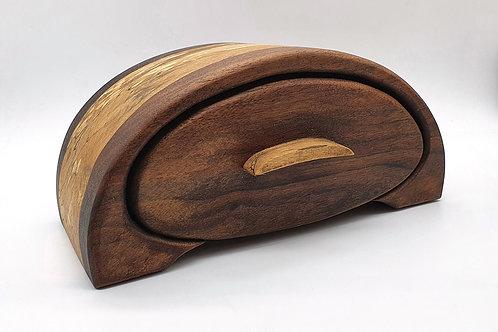 Half Moon Bandsaw Box