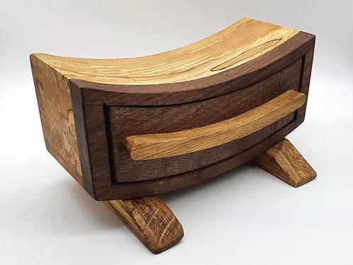 Large Smile Bandsaw Box
