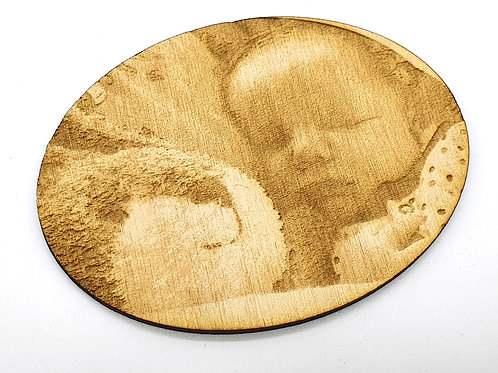 Your Photo On Wood