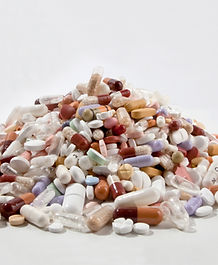 Pile of medical pills