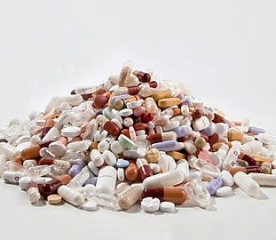 Pile de pilules