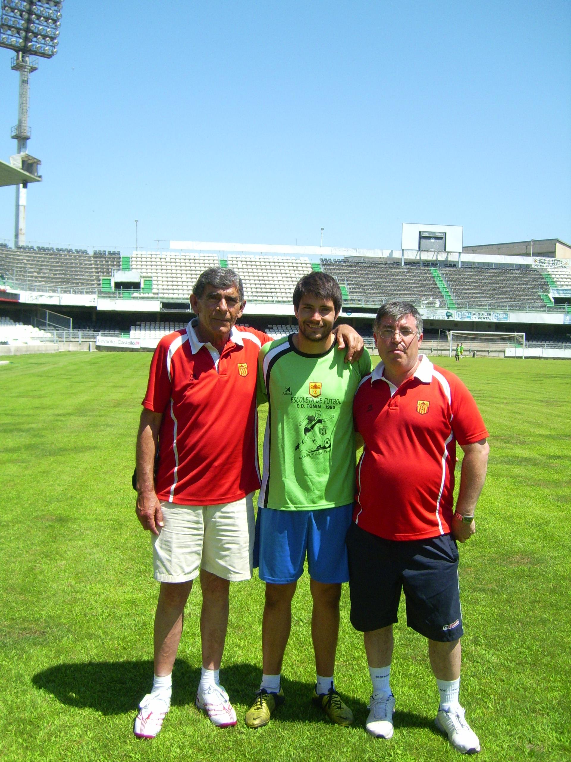 Vicente, Alex y José Ramón