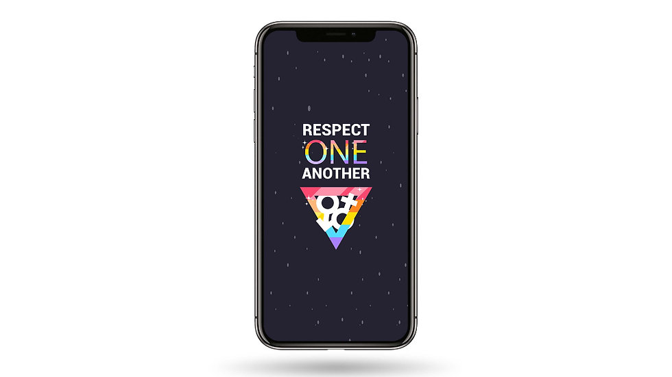 Respect One Another High Resolution Smartphone Wallpaper