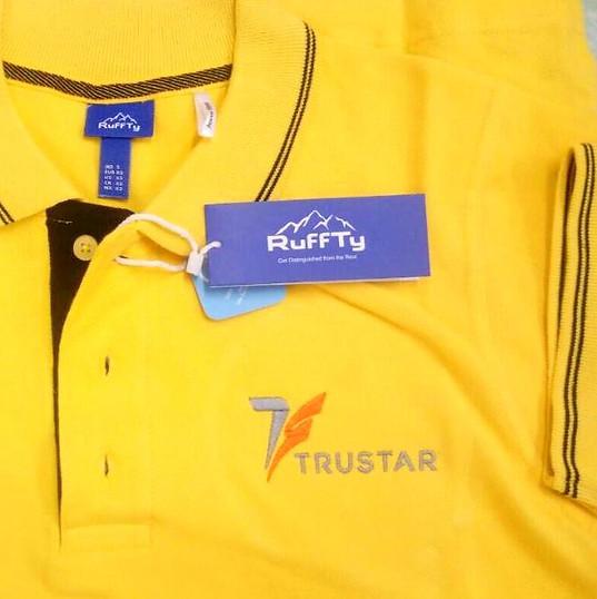 Trustar Logo Embroidery