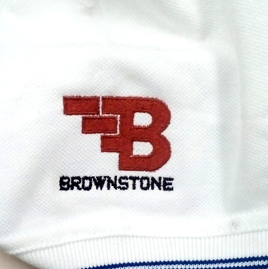 Brownstone Logo Embroidery