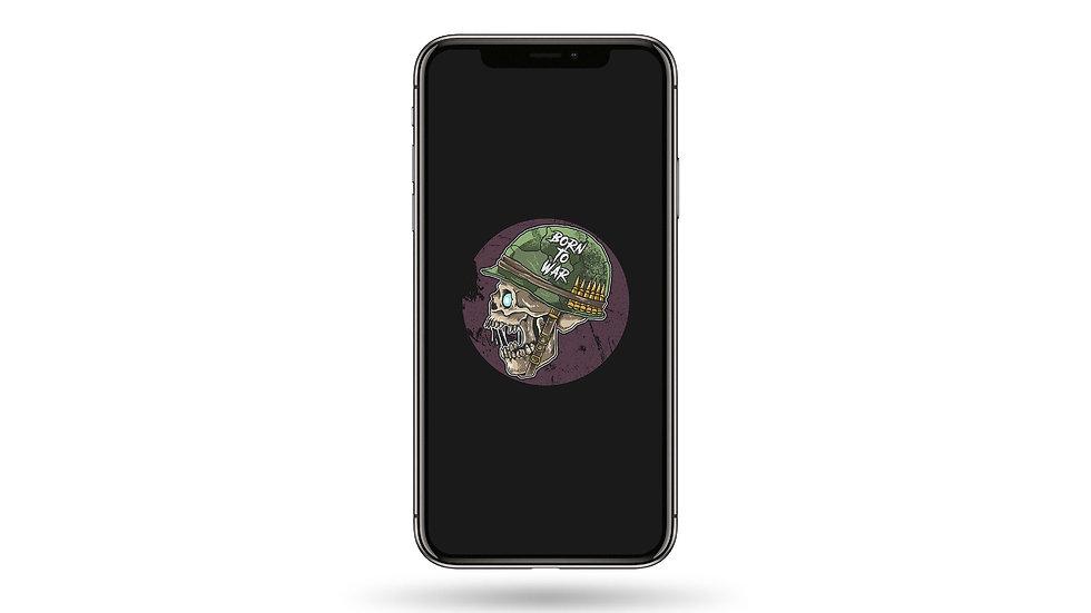 Born To War High Resolution Smartphone Wallpaper