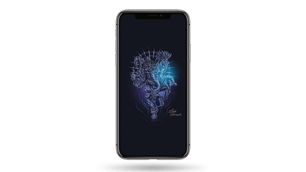 Lord Ganesha High Resolution Smartphone Wallpaper
