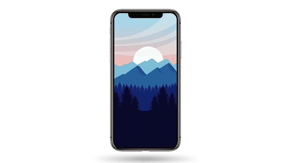 Sun Rise High Resolution Smartphone Wallpaper