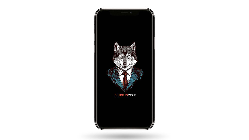 Business Wolf High Resolution Smartphone Wallpaper
