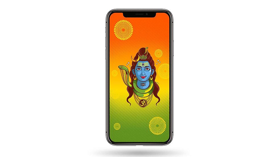 Bholenath High Resolution Smartphone Wallpaper