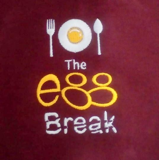 The Egg Break Logo Embroidery
