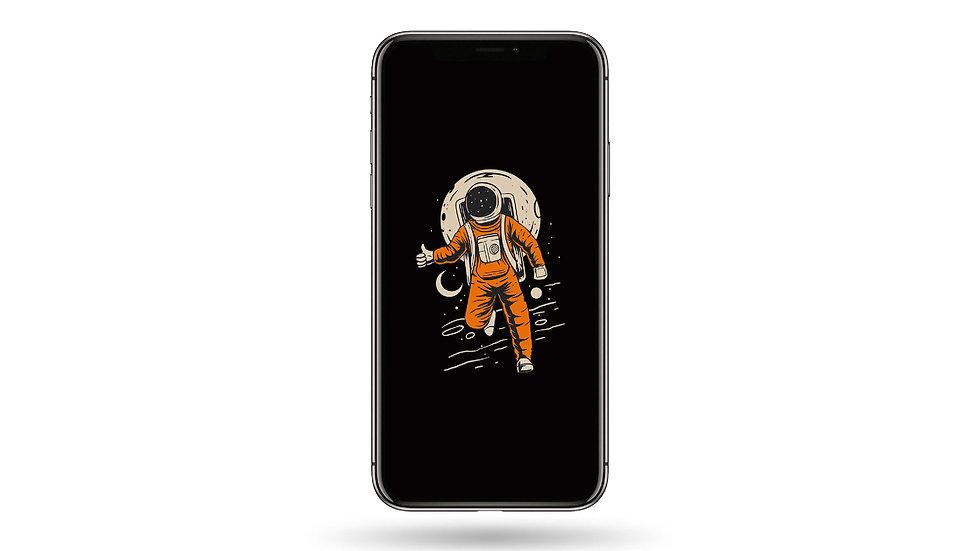 Space Astronaut High Resolution Smartphone Wallpaper