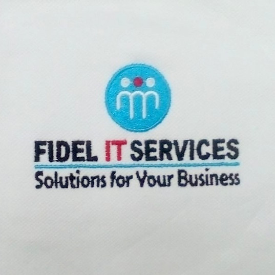 Fedel IT Services Logo Embroidery
