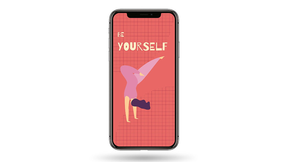 Be Yourself High Resolution Smartphone Wallpaper