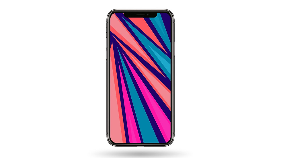 Pop Colour Abstract Design II High Resolution Smartphone Wallpaper