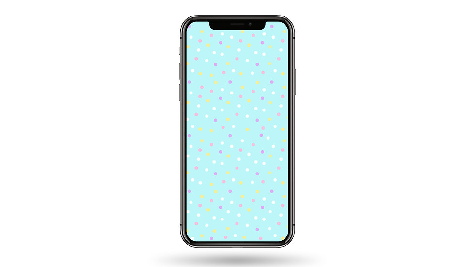 Small Polka Dots Pattern High Resolution Smartphone Wallpaper