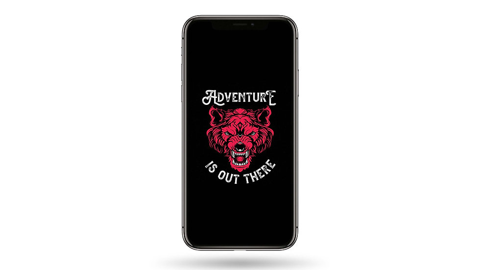 Adventure Is Out There High Resolution Smartphone Wallpaper