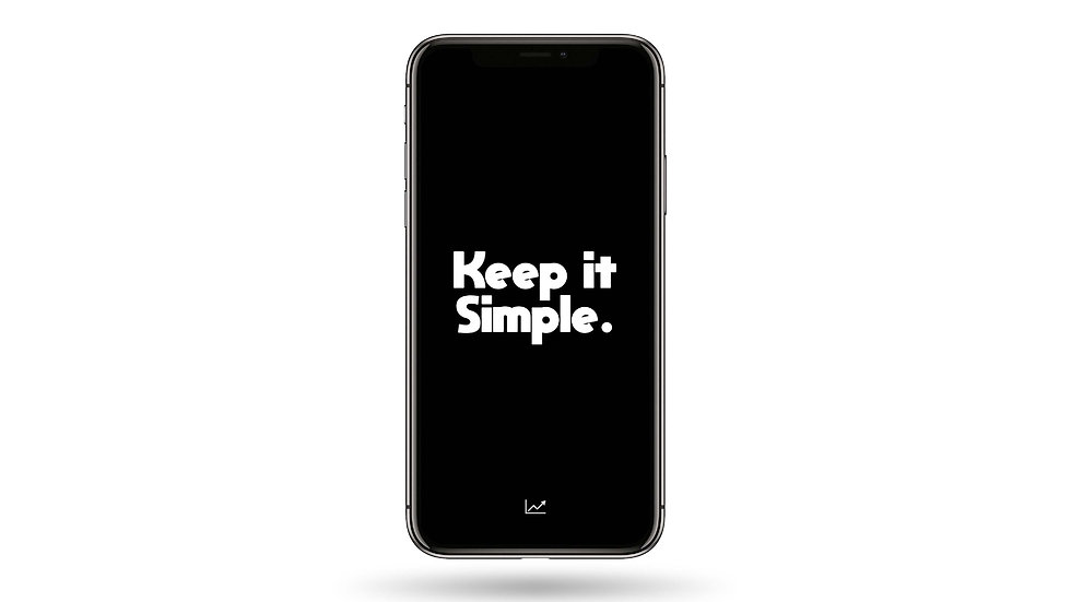 Keep It Simple High Resolution Smartphone Wallpaper