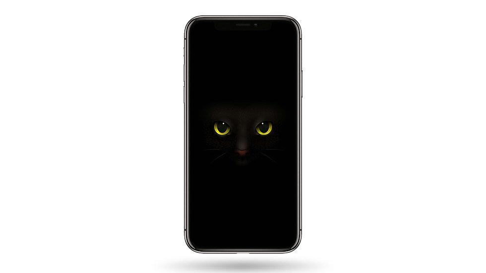 Cat Eyes High Resolution Smartphone Wallpaper