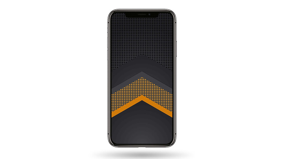 Abstract Orange Pattern High Resolution Smartphone Wallpaper