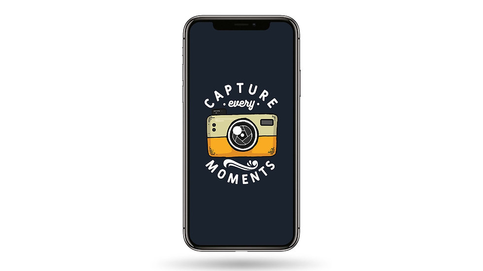 Capture Every Moments High Resolution Smartphone Wallpaper