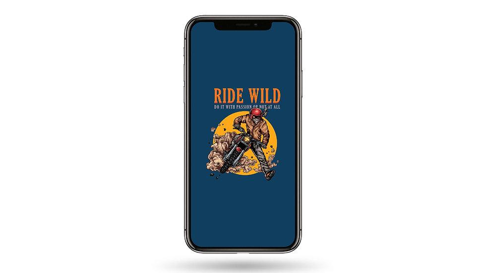 Ride Wild High Resolution Smartphone Wallpaper