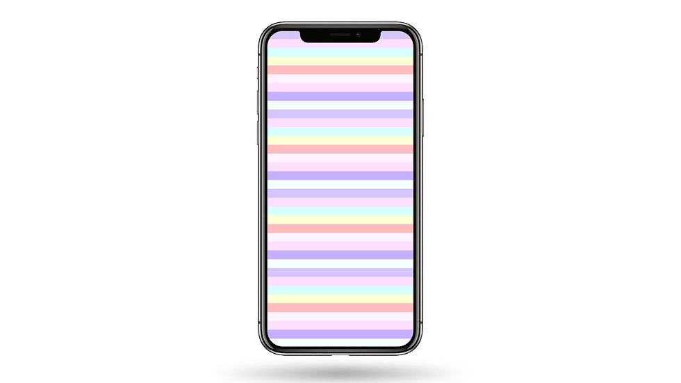Small Pastel Colour Lines High Resolution Smartphone Wallpaper