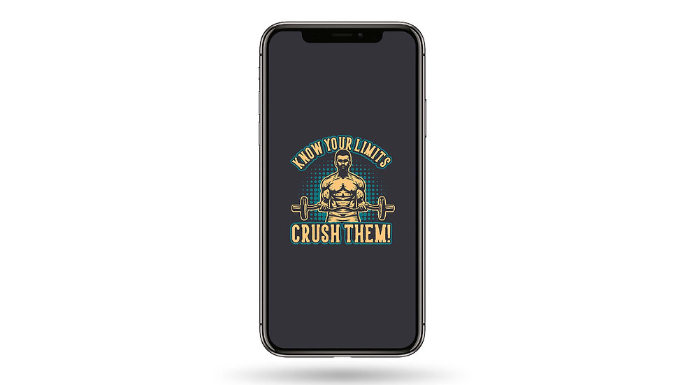 Crush Your Limits High Resolution Smartphone Wallpaper