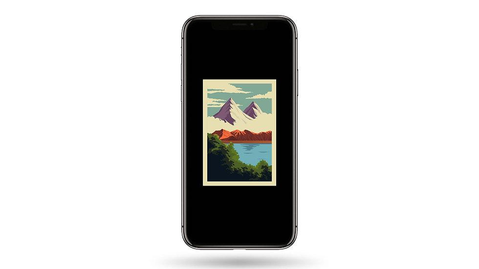 Nature Window I High Resolution Smartphone Wallpaper