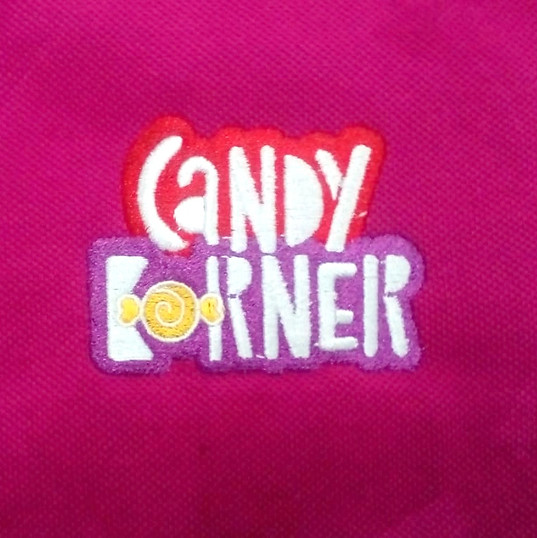 Candy Korner Logo Embroidery