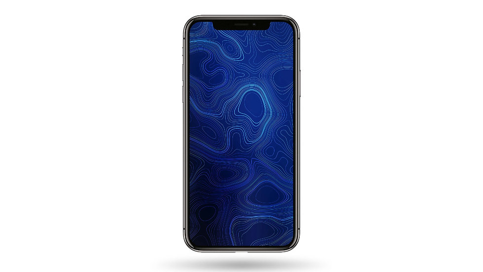 Blue Pattern High Resolution Smartphone Wallpaper