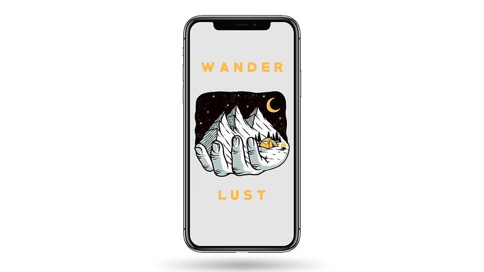 Wander Lust High Resolution Smartphone Wallpaper