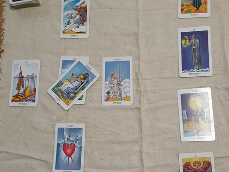 A question about love to the Tarot