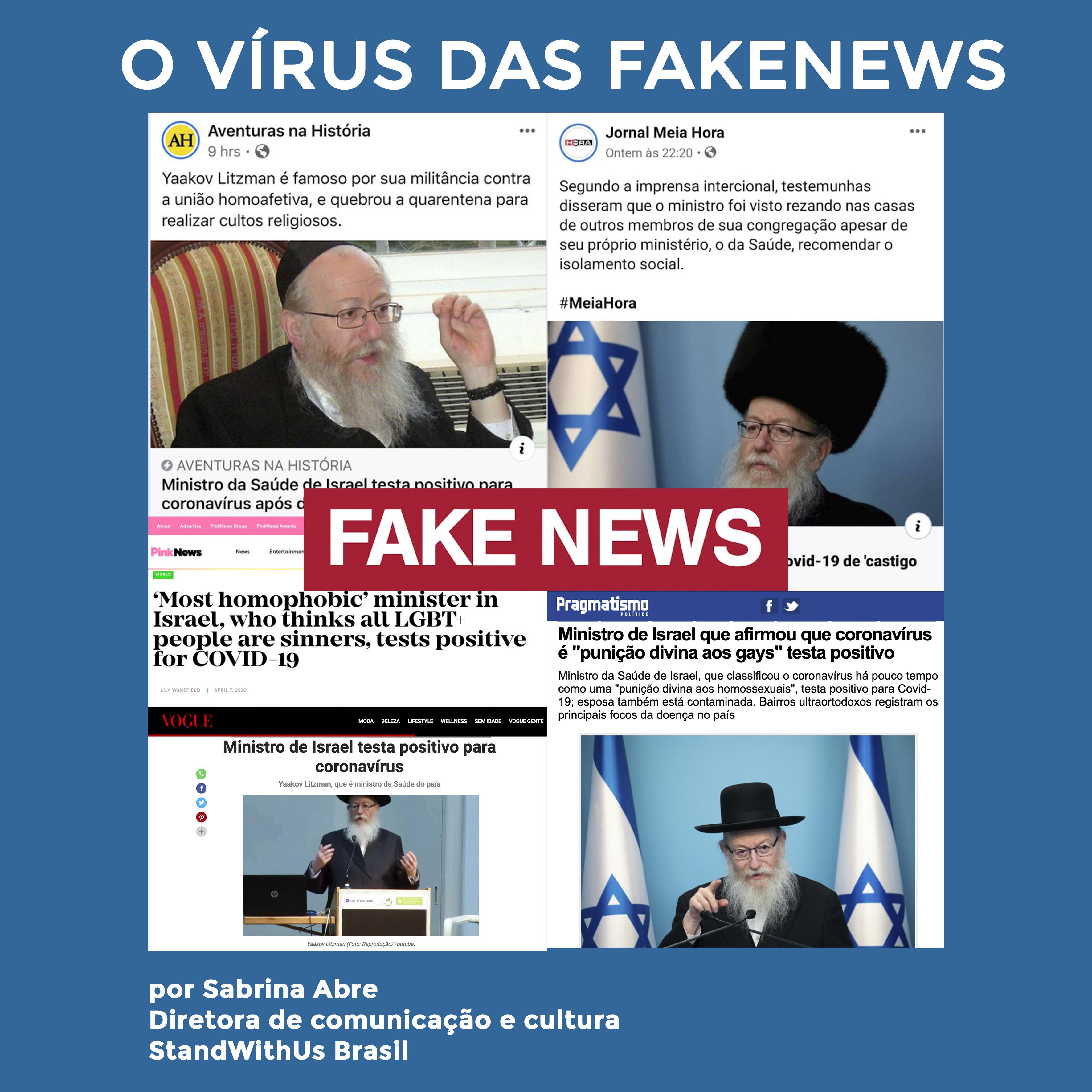 O vírus das Fakenews