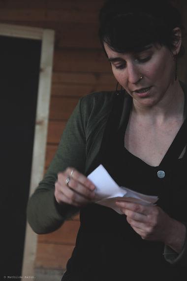 Axelle Glaie, poète