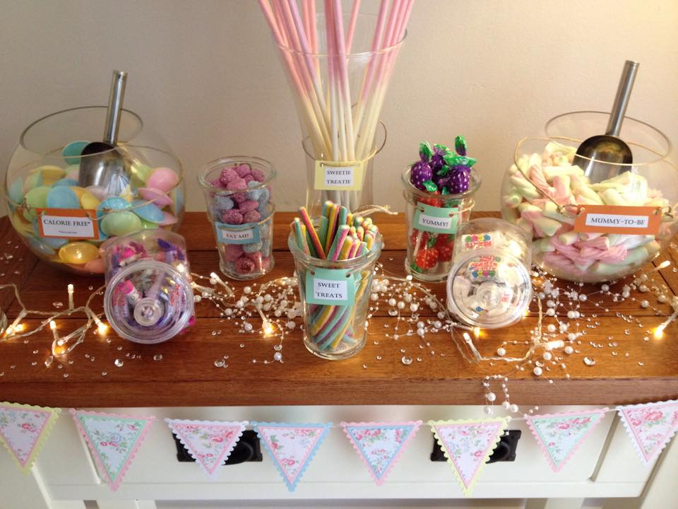 Sweet cart south wales wedding
